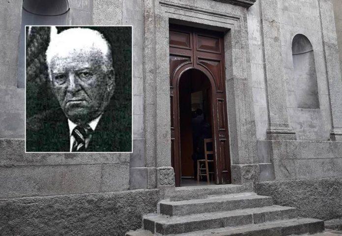 La chiesa di Fabrizia, oggi i funerali di Suppa