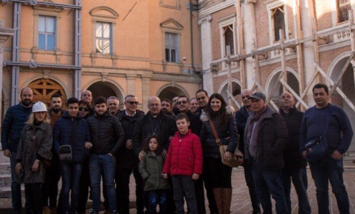 La delegazione di Favelloni a Camerino