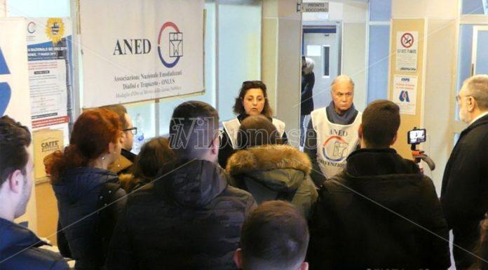 L'iniziativa dell'Aned a Tropea