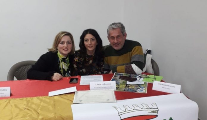 Romina Candela, Laura Natale e Salvatore Berlingieri