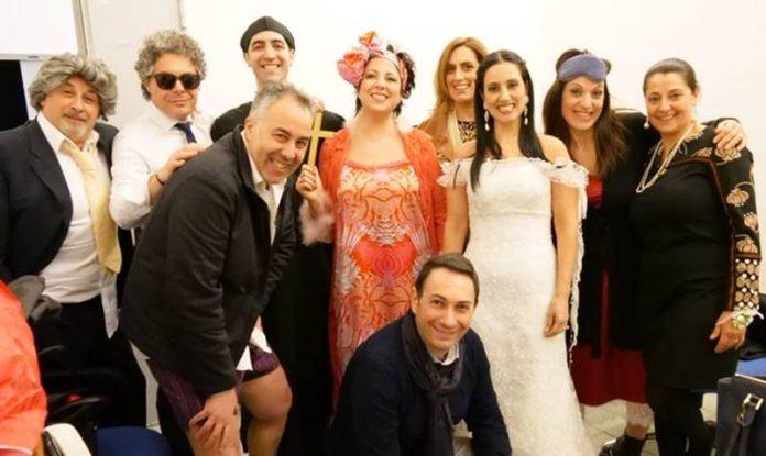 La compagnia teatrale La Ribalta
