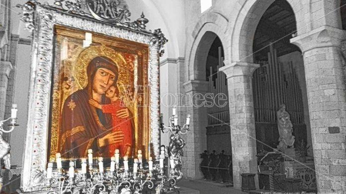 Il quadro della Madonna di Romania
