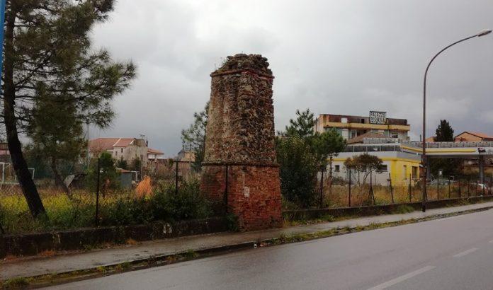 Una delle tre guglie di Mileto
