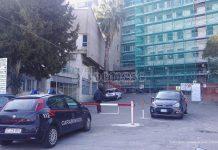 I carabinieri all'ospedale di Tropea