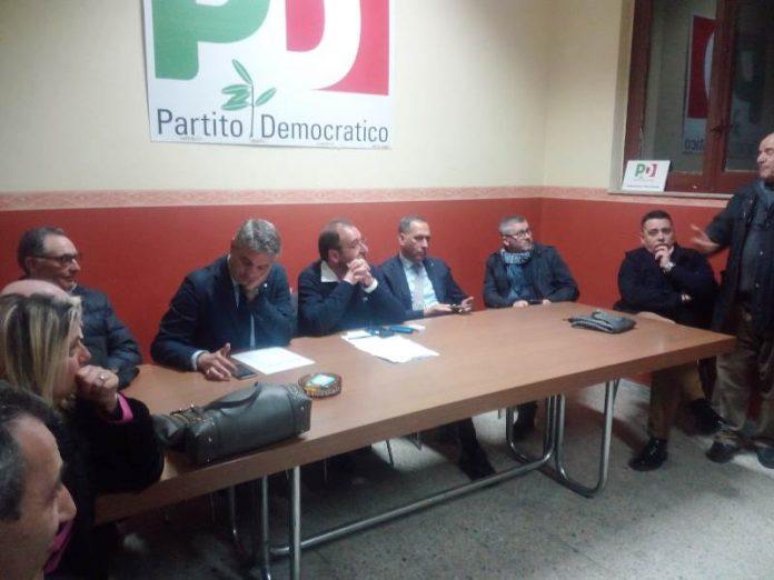 La riunione della direzione provinciale Pd