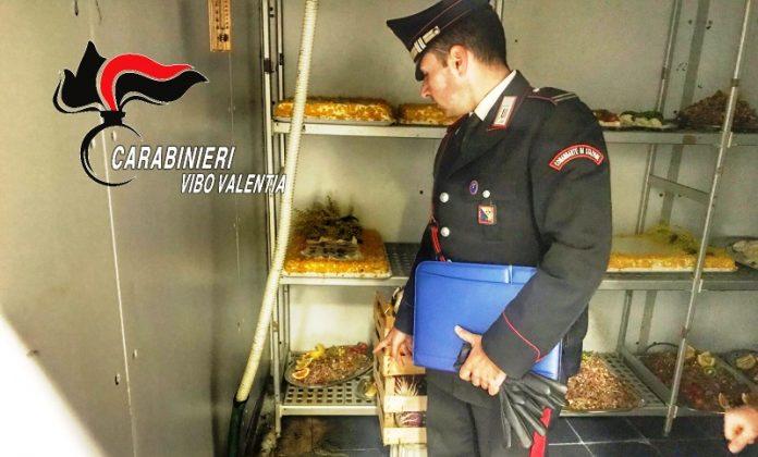 Il controllo dei carabinieri