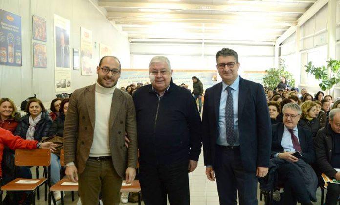 In foto Callipo, Gualtieri e Vetromilio