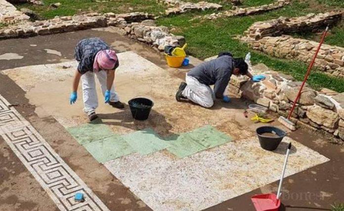Volontari al lavoro al Parco di Sant'Aloe