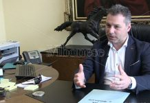 Il presidente della Provincia Salvatore Solano