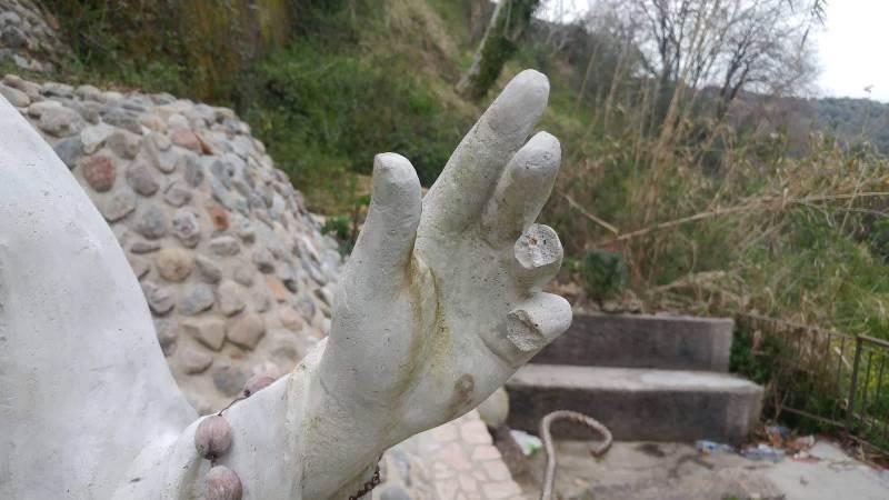 statua san leoluca vena vandali 3