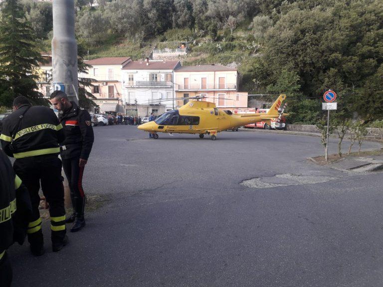 Precipita in un burrone a Monterosso, interviene l'elisoccorso – Video