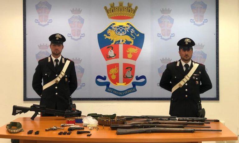 Armi e munizioni nel Vibonese, un arresto e una denuncia – Video