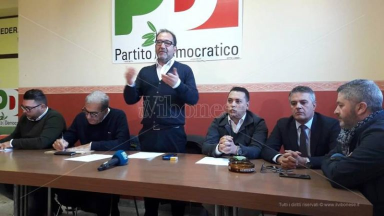 Comunali a Vibo, Insardà replica a Bevilacqua: «Non è un interlocutore del Pd»