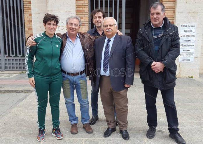 Francesco Belsito e i suoi supporter