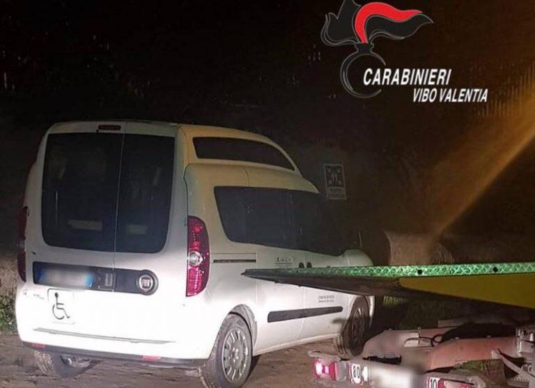 Pizzo, auto in uso alla polizia municipale sequestrata dai carabinieri