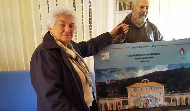 La figlia spirituale di Padre Pio in visita a Vibo Valentia