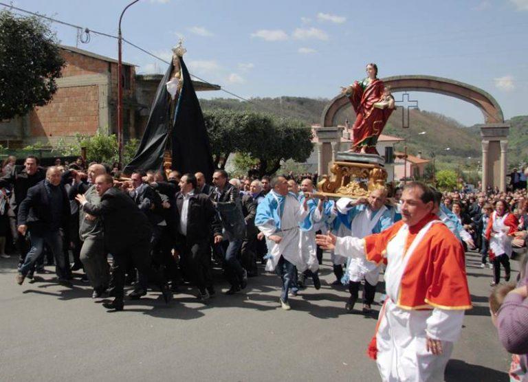 Verso la Pasqua, a Dasà tutto pronto per la 'Ncrinata – Video