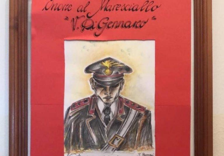 """""""Onore al maresciallo Di Gennaro"""", gli alunni di San Nicola da Crissa omaggiano i carabinieri"""