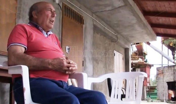 Pontoriero racconta la sua disavventura