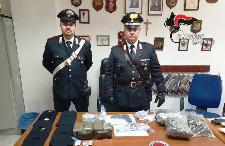 Maxi-sequestro dei carabinieri: sotto chiave armi, droga e munizioni
