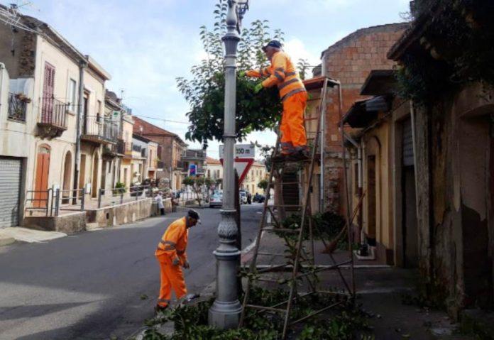 Lsu a lavoro a Sant'Onofrio