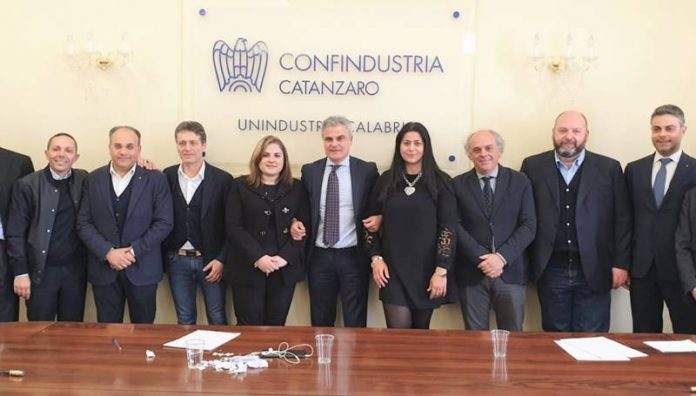Il nuovo consiglio direttivo della sezione Editoria di Unindustria Calabria