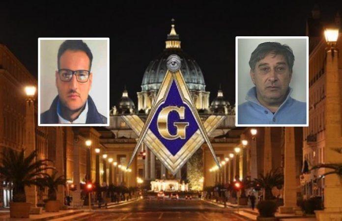 In foto nel riquadro: Raffaele Moscato e Saverio Razionale