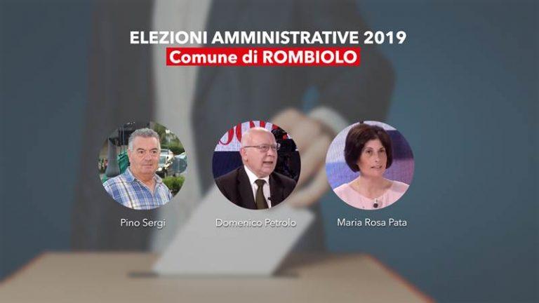 Comunali 2019   Rombiolo, vince il Pd con Domenico Petrolo