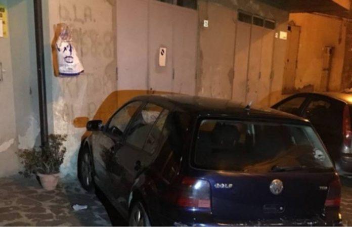 L'autovettura utilizzata nella tentata rapina