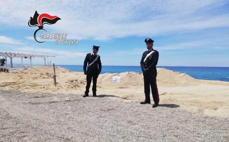 Lavori abusivi a Ricadi: i carabinieri denunciano cinque imprenditori
