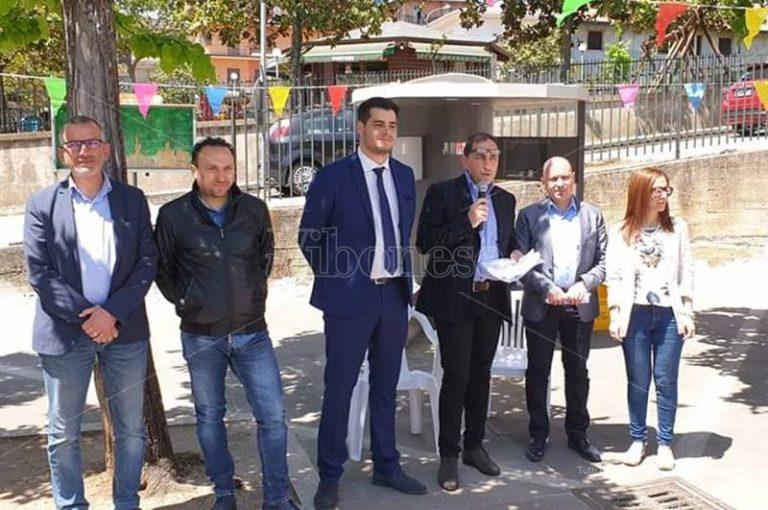 A San Calogero inaugurata la prima casetta dell'acqua