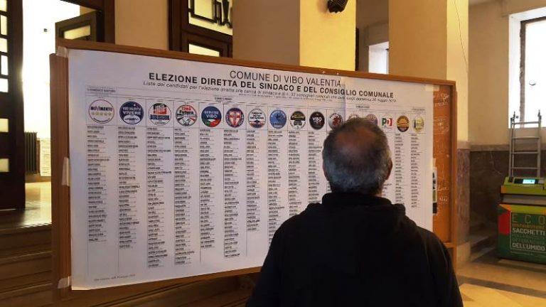 Comunali a Vibo, ecco i voti di preferenza e la composizione del nuovo Consiglio