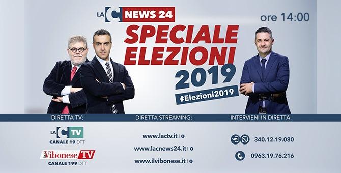 Speciale Amministrative 2019, segui la maratona elettorale di LaC e Il Vibonese Tv – Video