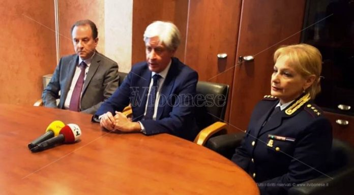 Da sinistra, Petralia, Gargano e Mazzeo