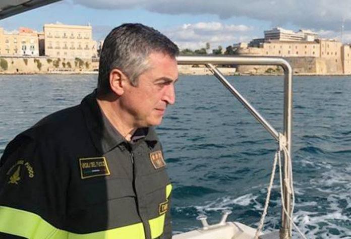 Il comandante Gianpiero Rizzo