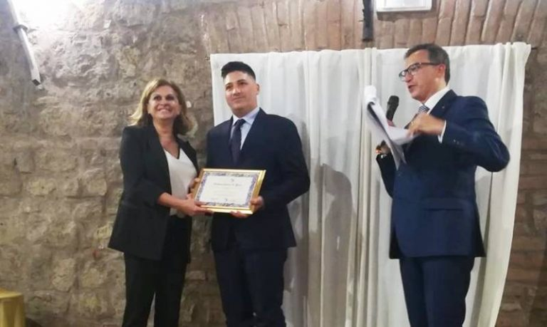 Il maieratano Giuseppe Silvaggio nominato Ambasciatore di pace nel mondo