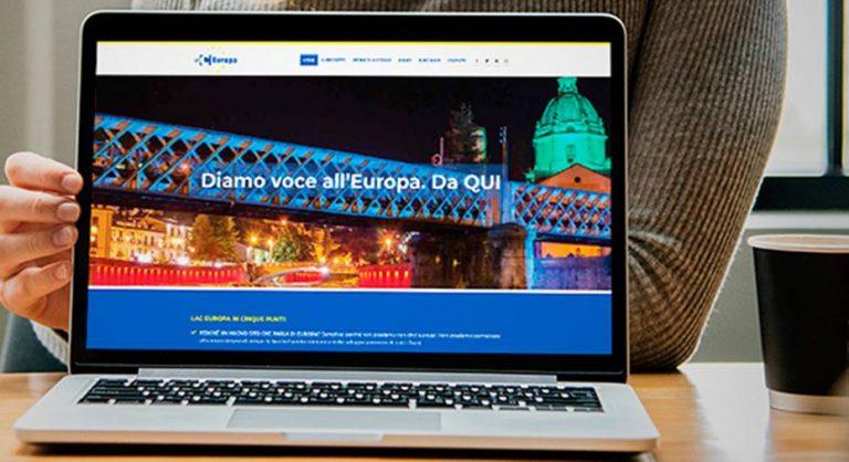 LaC Europa, on line il portale web che unisce il Sud alla Comunità europea