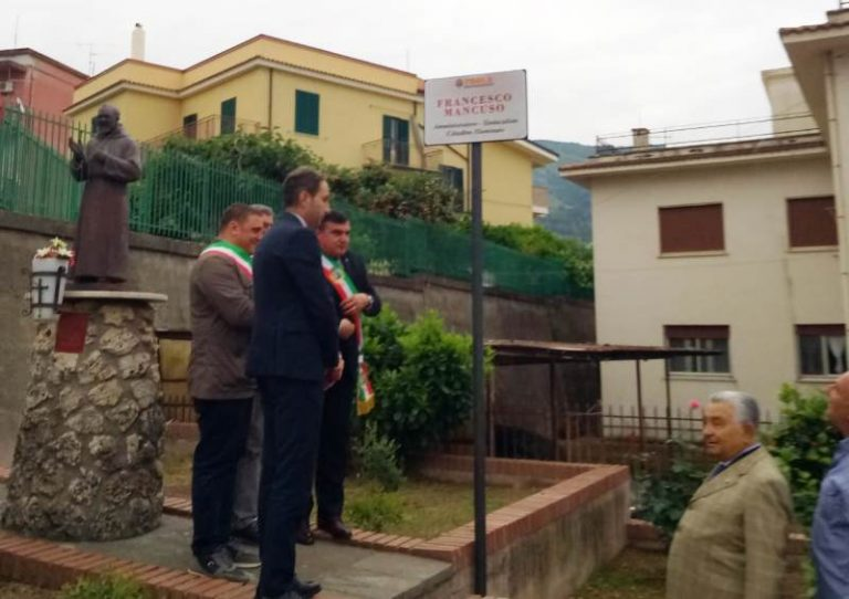 La città di Paola ricorda Francesco Mancuso, sindacalista e amministratore