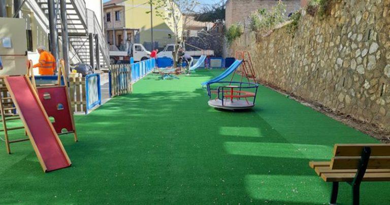 Nuovo parco giochi per i più piccoli a Sant'Onofrio