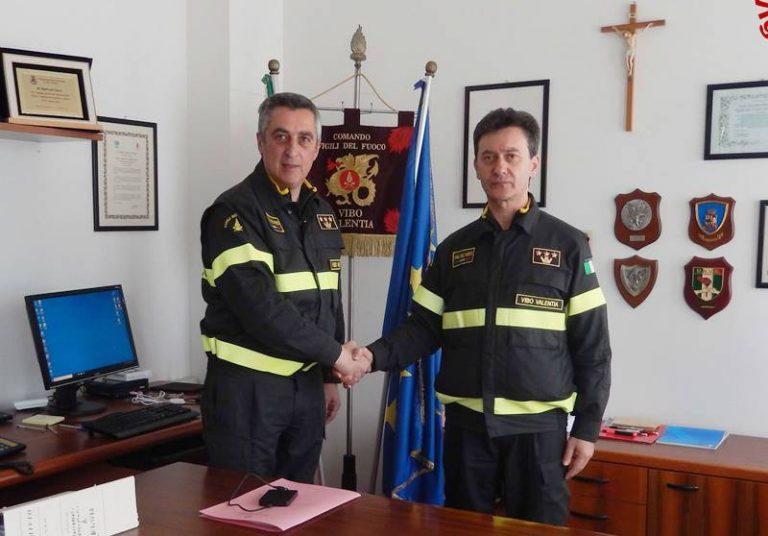 Vigili del fuoco, passaggio di consegne al Comando vibonese: alla guida subentra Rizzo – Video