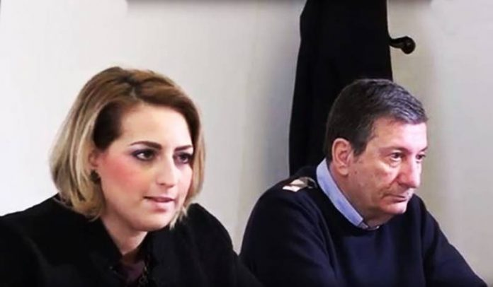 Dalila Nesci e Gianluigi Scaffidi