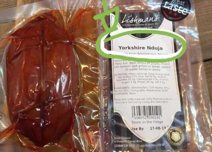 La Yorkshire Nduja