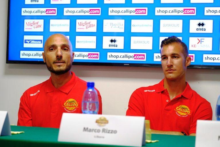 """Tonno Callipo, le prime parole """"giallorosse"""" di D'Amico e Rizzo"""