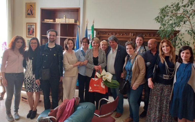 La delegazione Fai di Vibo ha incontrato il sindaco