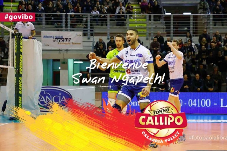 Volley, la Tonno Callipo ingaggia il martello francese Swan Ngapeth