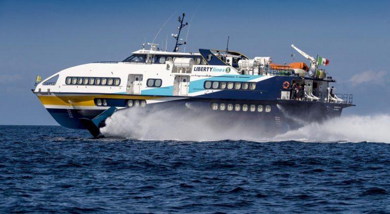 Vibo Marina, riprendono i collegamenti in aliscafo con le Isole Eolie