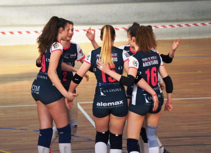 Le ragazze dell'Argentario Volley Trento