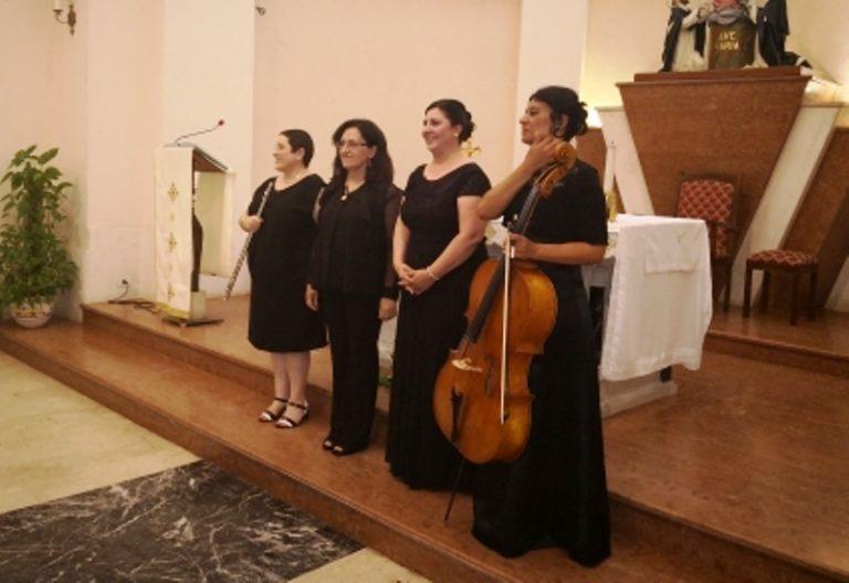 """""""Concerto d'inizio estate"""", applausi a scena aperta per l'ensemble al femminile"""