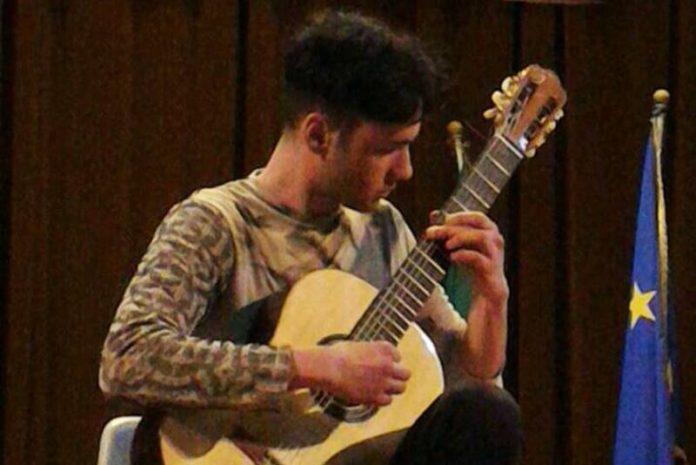 L'esibizione di Diego Cambareri a Vibo