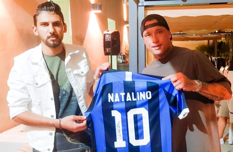 Tragedia di Soriano, dai campioni dell'Inter una maglietta per Natalino